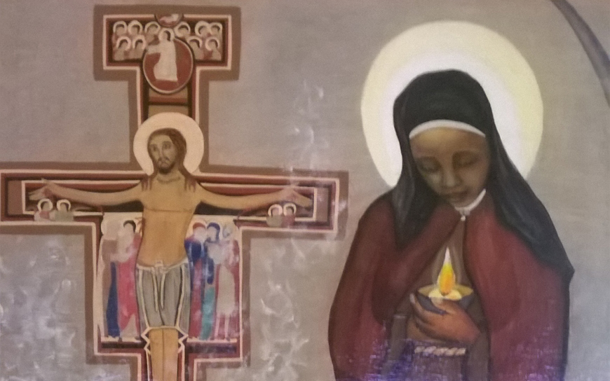 St. Clare our model of contemplation & affective love