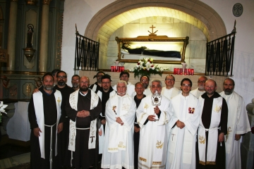 Pilgrimage to the Tomb of Saint Lawrence of Brindisi