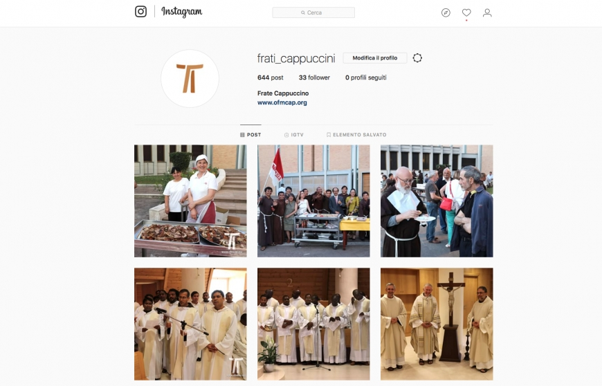 Capuchins on Instagram