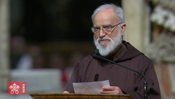 Fr Cantalamessa on Good Friday: 'young people can rescue human love'