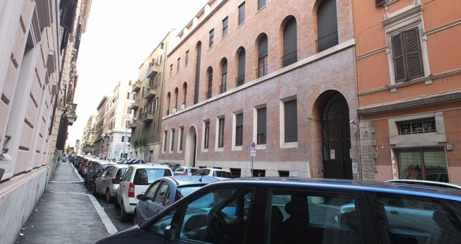 The Friary of Via Cairoli in Rome