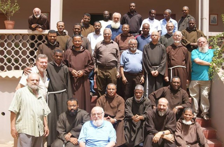 The Capuchins of Cape Verde are going to São Tomé and Príncipe in mission