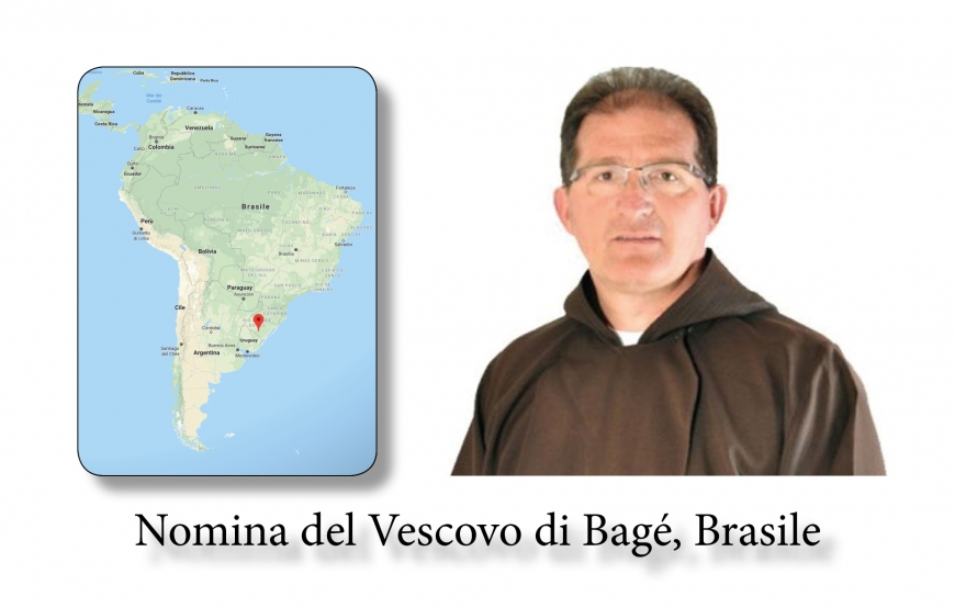 Appointment of the Bishop of Bagé, Brazil, 2018.09.26.