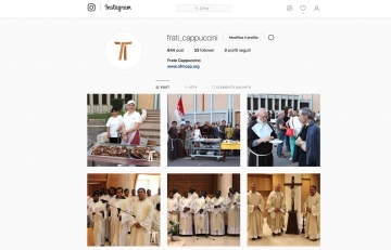 Capuchinhos no Instagram