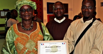 """Franciscains Bénin"" NGO receives Human Rights Prize"