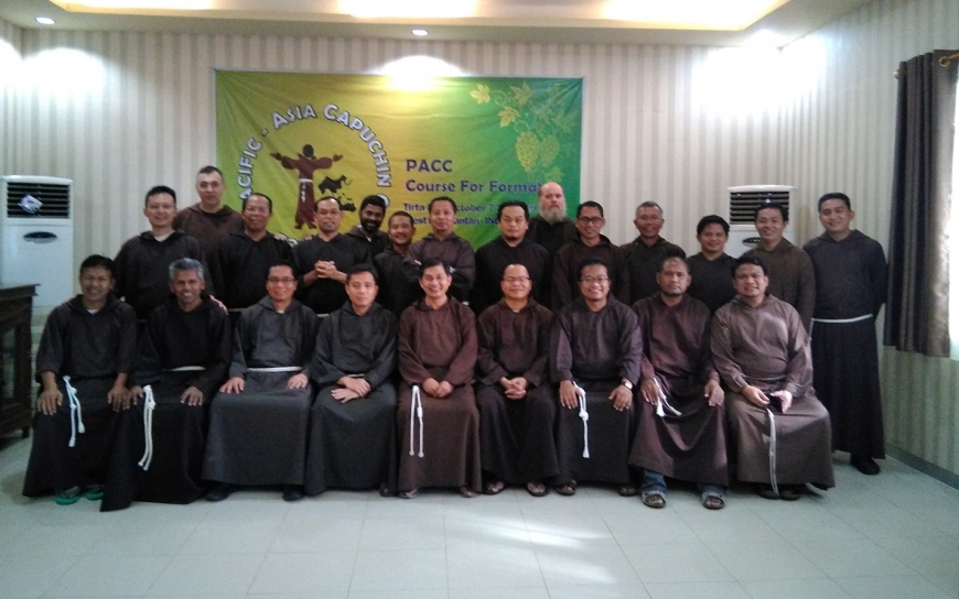 Formators Course & Experiencing Capuchin Goodness