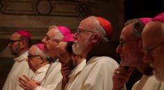 Vescovi cappuccini – messa nella Basilica di San Francesco
