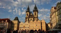 La città di Praga, Repubblica Ceca