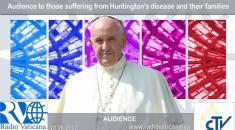 Audience to those suffering from Huntington's disease and their families